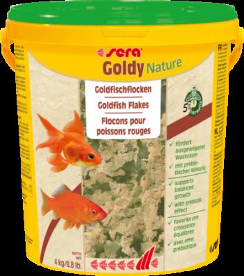 Корм для золотых рыбок SERA Goldy Nature 21л (4кг)