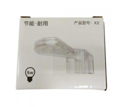 Аквариумный светодиодный светильник ALEAS X2 LEDx8, 5w, полупрозрачный