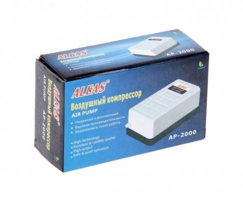 Компрессор одноканальный ALEAS 1,6 л/м, 2,5W