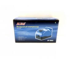 Компрессор двухканальный ALEAS с плавной регулировкой 2 х 2.5 л/м, 3W