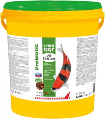 Корм для прудовых рыб SERA Koi All Seasons Probiotic 7 кг.