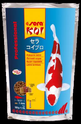 Корм для прудовых рыб SERA KOI Professional лето 500 г