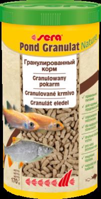 Корм для прудовых рыб SERA POND GRANULAT 1 л (170 г)