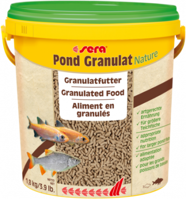 Корм для прудовых рыб SERA POND GRANULAT 10 л (1,5 кг)