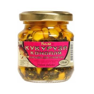 Кукуруза Насадочная Fish-Ka 110мл Мотыль