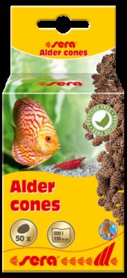 Ольховые шишки SERA Аlder cones 50 шт