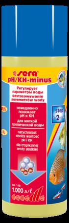 Средство для воды SERA pH-minus 250 мл