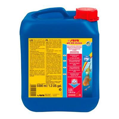 Средство для воды SERA pH-minus 5 л