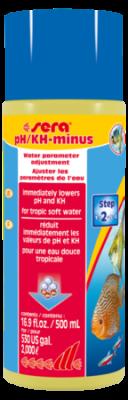 Средство для воды SERA pH-minus 500 мл
