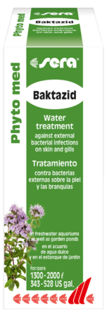 Средство для воды SERA Phyto med Baktazid 100 мл