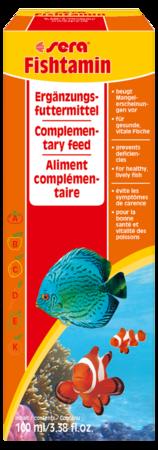 Витаминный препарат SERA Fishtamin 100 мл