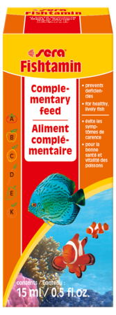 Витаминный препарат SERA Fishtamin 15 мл