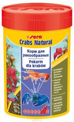 Корм для раков и крабов SERA Crabs Natural 100 мл (30 г)