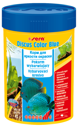 Корм для рыб SERA Discus Color Blue 100 мл (48 г)