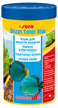 Корм для рыб SERA Discus Color Blue 250 мл (116 г)