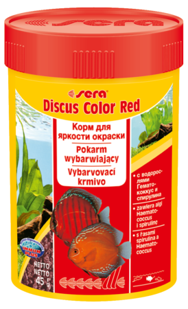Корм для рыб SERA Discus Color Red 100 мл (48 г)