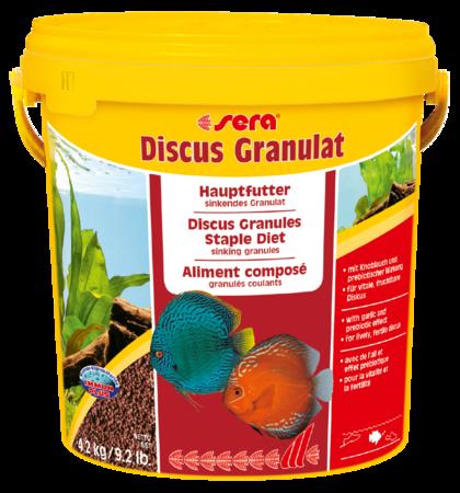 Корм для рыб SERA Discus Granulat 10 л (4,2 кг) ведро