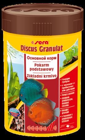 Корм для рыб SERA Discus Granulat 100 мл (48 г)