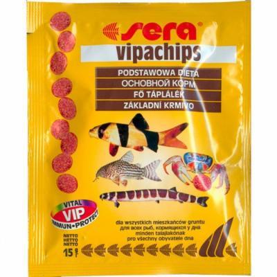 Корм для рыб SERA Vipachips 15 г (пакетик)