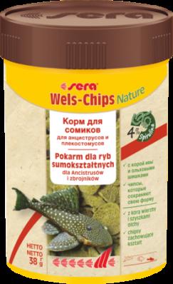 Корм для рыб SERA Wels Chips 100 мл (38 г)