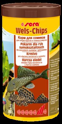 Корм для рыб SERA Wels Chips 1000 мл (380г)