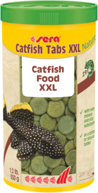 Таблетки для сомов SERA Catfish Tabs XXL 1000 мл (420г)
