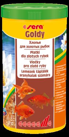 Корм для рыб SERA Goldy 1 л (210 г)