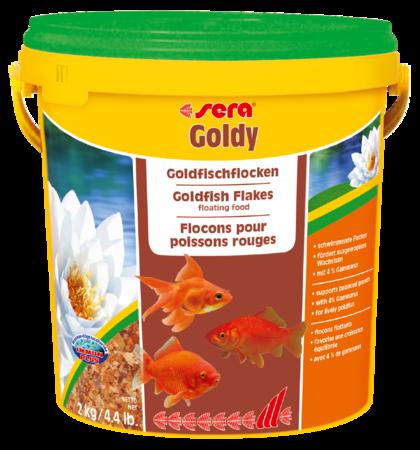Корм для рыб SERA Goldy 10 л (2 кг) ведро
