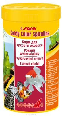 Корм для рыб SERA Goldy Color Spirulina 250 мл (95 г)