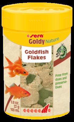 Корм для рыб SERA Goldy Nature 100 мл (22 г)