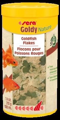 Корм для рыб SERA Goldy Nature 1000 мл (210 г)