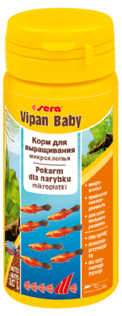 Корм для рыб SERA Vipan Baby 50 мл (30 г)