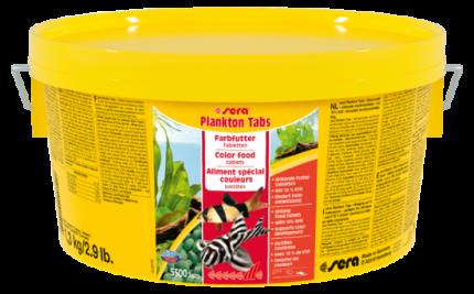 Корм для рыб SERA Plankton Tabs 2000 мл (1,3 кг) (5500 таб)
