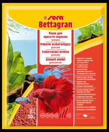 Корм для петушков SERA Bettagran 10 г