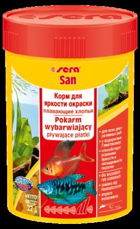 Корм для рыб SERA San 100 мл (22 г)