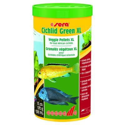 Корм для рыб SERA Cichlid Green XL 1 л (370 г)