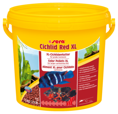 Корм для рыб SERA Cichlid Red XL 3,8 л (1,9 кг)
