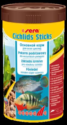 Корм для рыб SERA Cichlids Sticks 250 мл (52 г)