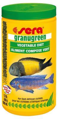 Корм для рыб SERA Granugreen 1000 мл (600 г)