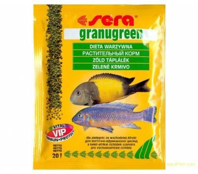 Корм для рыб SERA Granugreen 20 г (пакетик)