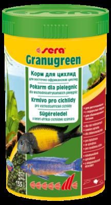 Корм для рыб SERA Granugreen 250 мл (135 г)