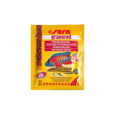 Корм для рыб SERA Granured 20 г (пакетик)