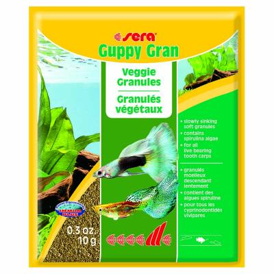 Корм для рыб SERA Guppy Gran 10 г