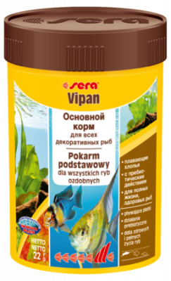 Корм для рыб SERA Vipan 100 мл (22 г)