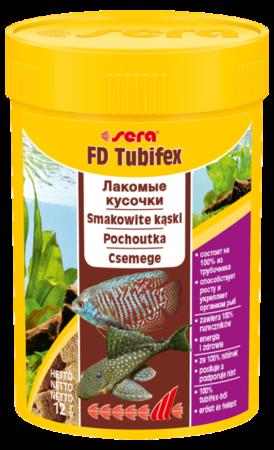 Корм для рыб SERA FD Tubifex (трубочник) 100 мл (12 г)