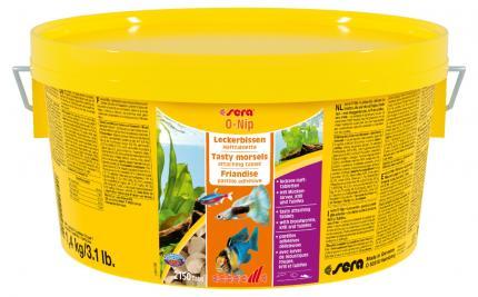 Корм для рыб SERA O-NIP 1,4 кг (ведро)