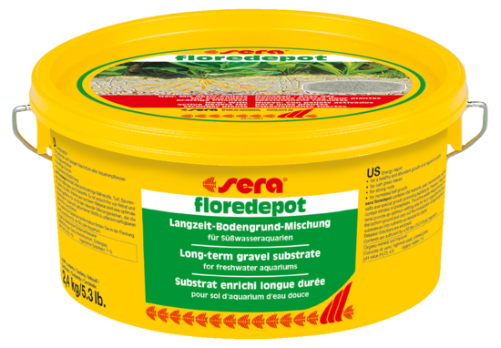 Грунт для растений SERA Floredepot 2,4 кг (ведро)