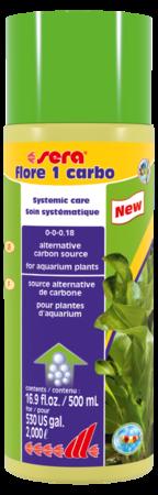 Удобрение для растений SERA Flore 1 carbo 500 мл