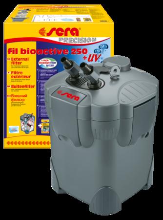 Внешний фильтр SERA Fil Bioactive 250 + УФ